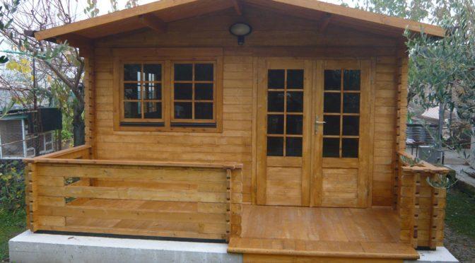 Casa mobile su terreno
