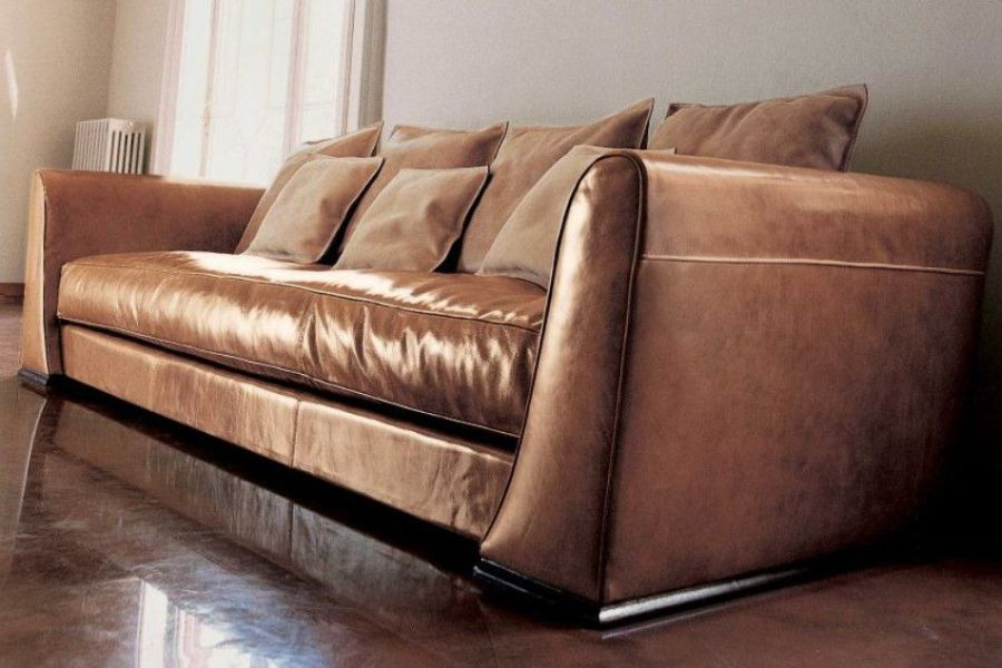 Come pulire i divani in pelle e cuoio
