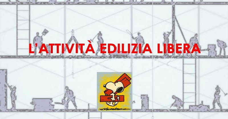 EDILIZIA LIBERA