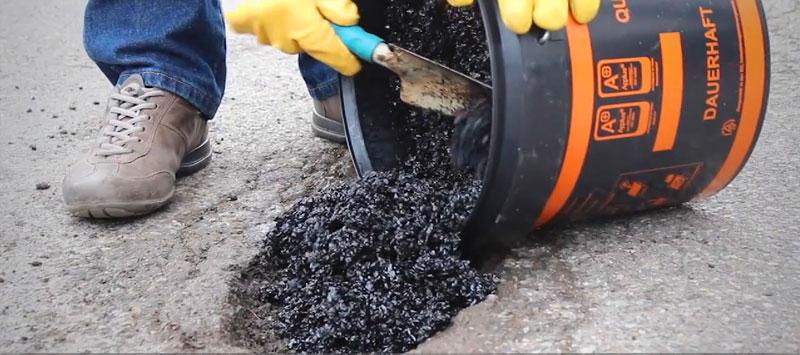 asfalto freddo