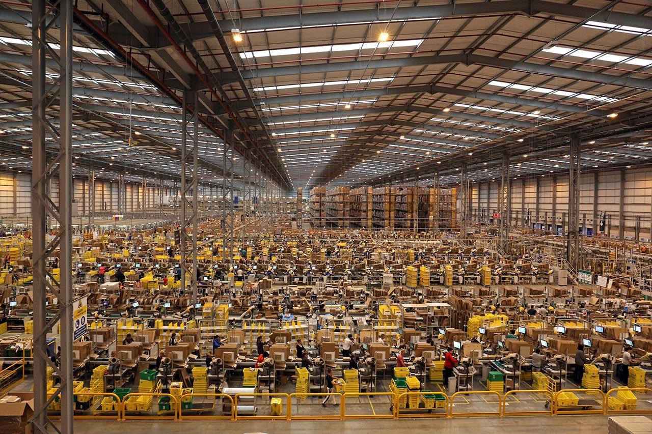 automazione sui posti di lavoro amazon