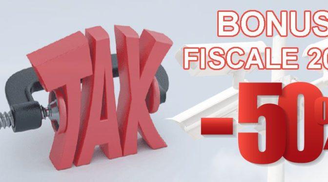 bonus fiscale videosorveglianza 2017