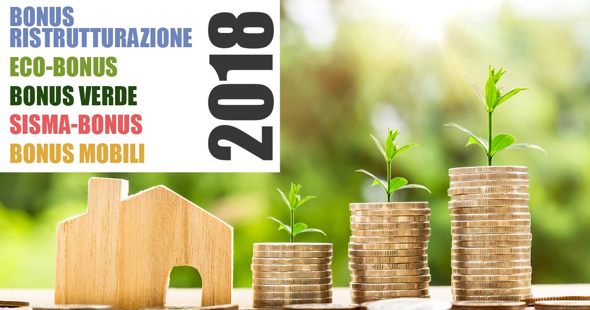 bonus ristrutturazione 2018