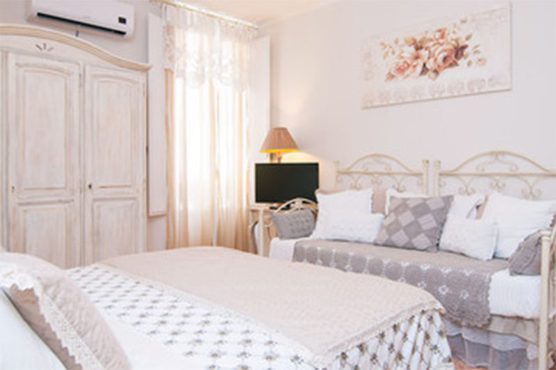 camera da letto glamour