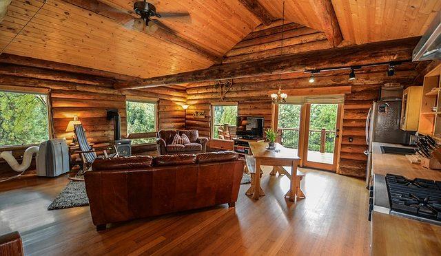 case moderne in legno