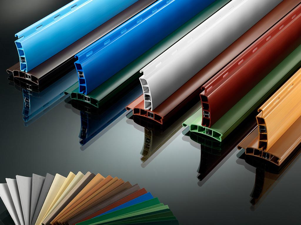 colori avvolgibili in alluminio espanso