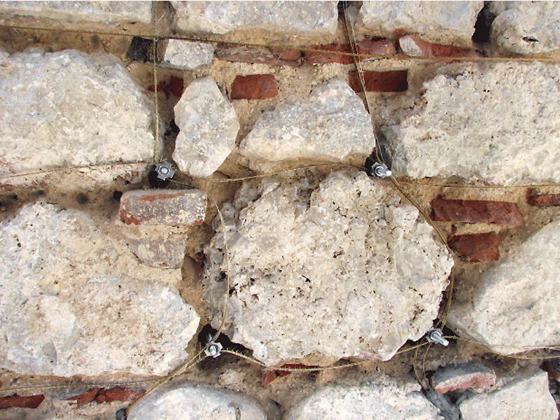 consolidamento delle pareti