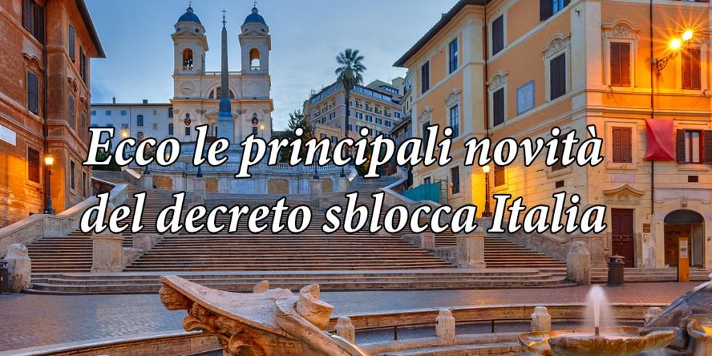 decreto sblocca italia