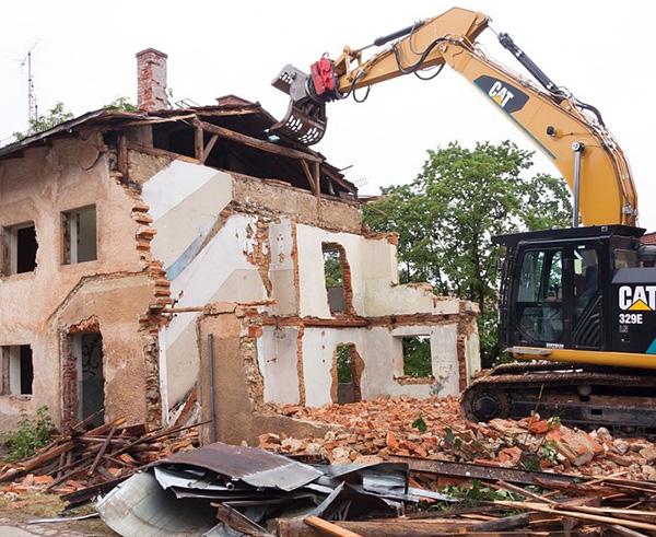 demolire una casa
