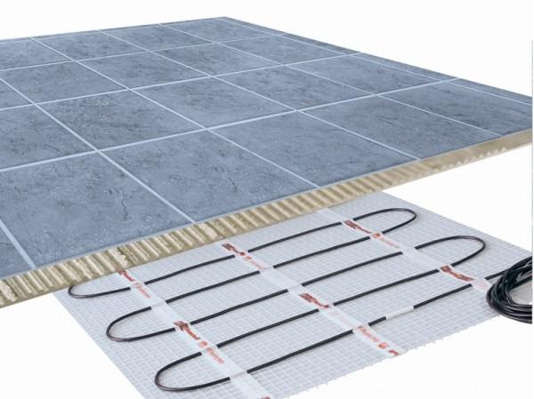 impianto di riscaldamento a pavimento elettrico