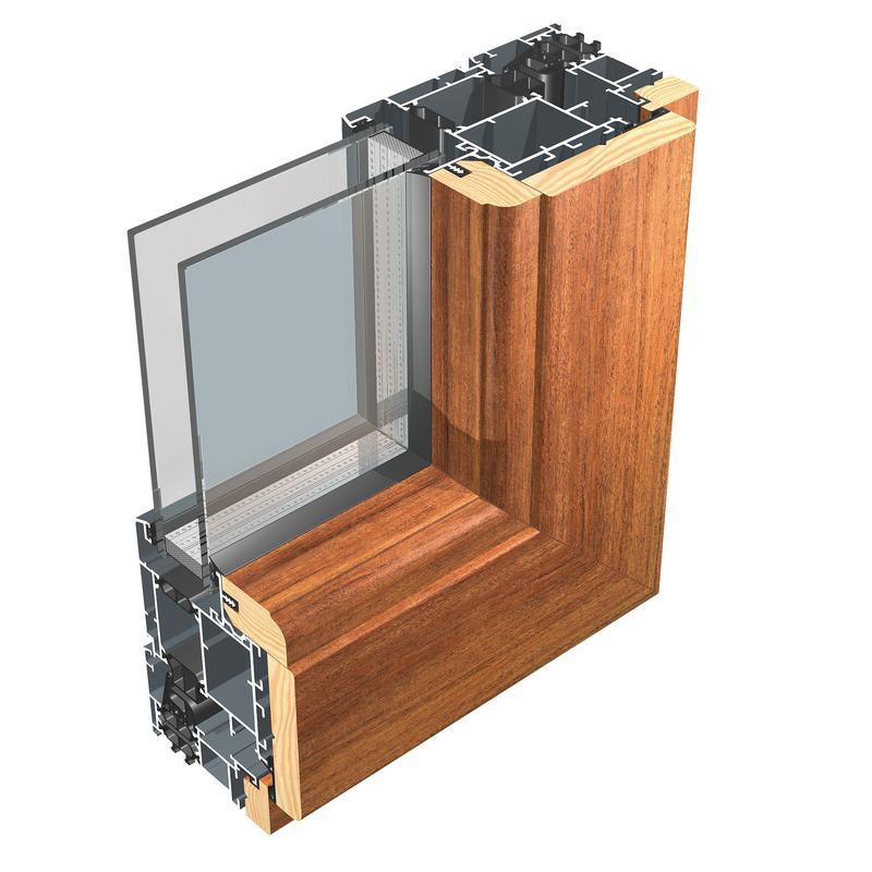 infissi alluminio legno