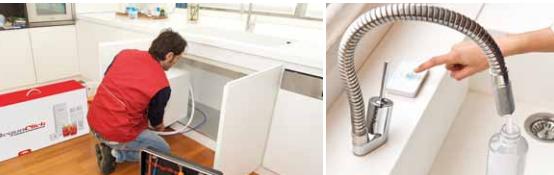 installare impianto a osmosi inversa