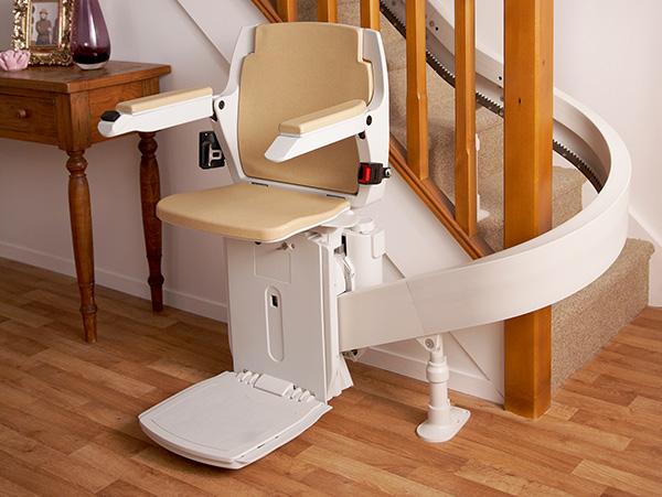 montascale per disabili curvilinei