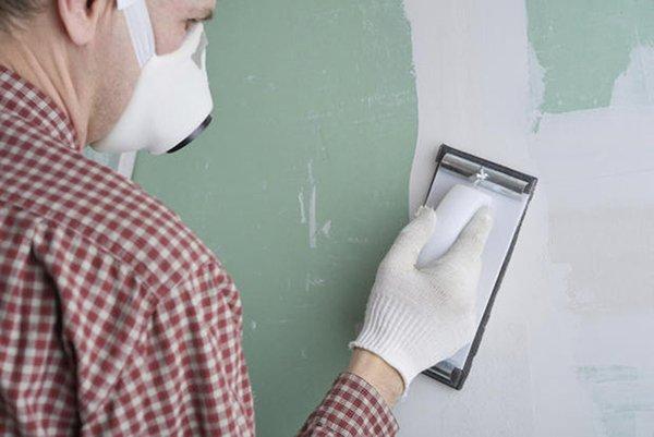 pittura murale su cartongesso