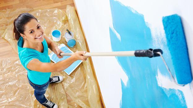 pitturare con il rullo