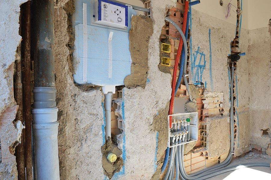 rifare l'impianto idraulico quando si ristruttura la casa