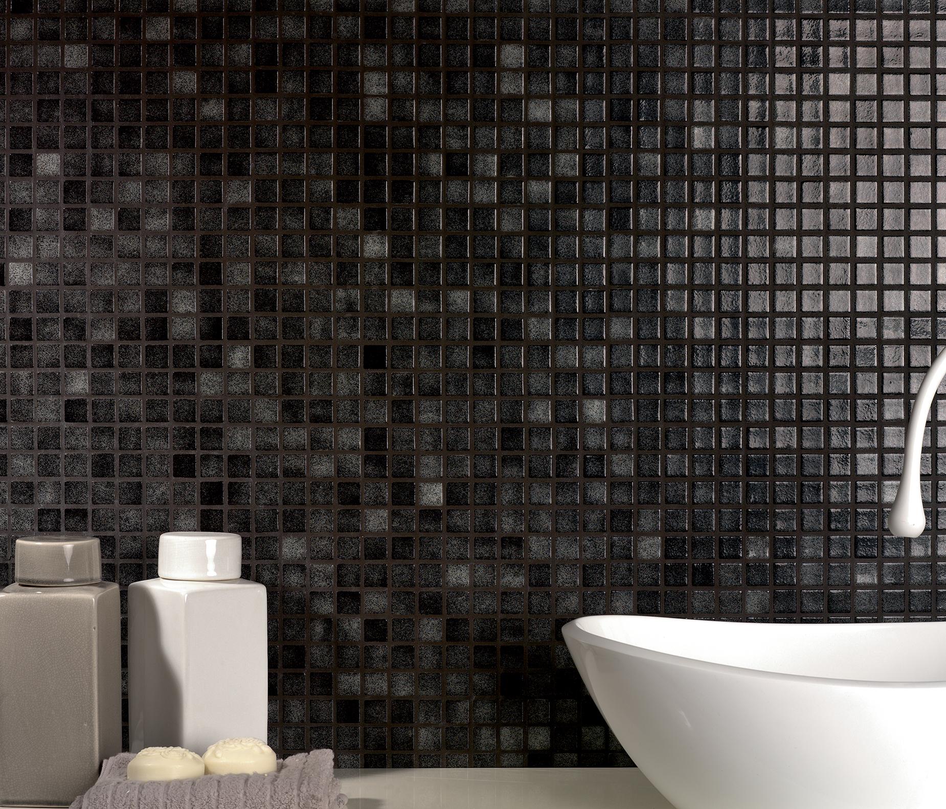 Bagno Con Mosaico Bianco rivestimenti bagno in mosaico nero e i suoi costi