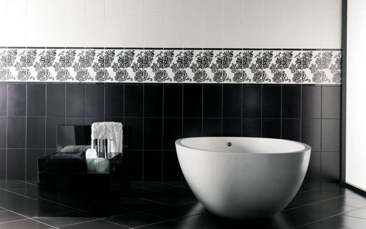 Rivestimenti Bagno Nero : Rivestimenti bagno in mosaico nero e i suoi costi