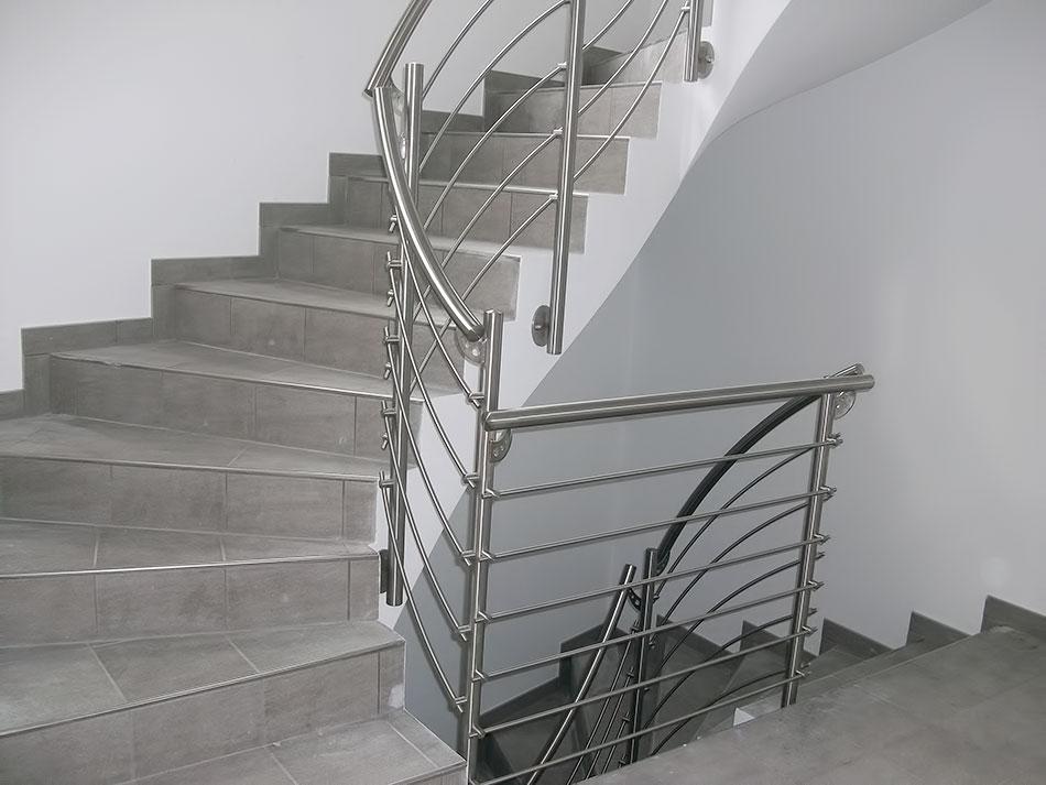 scale da interni acciaio