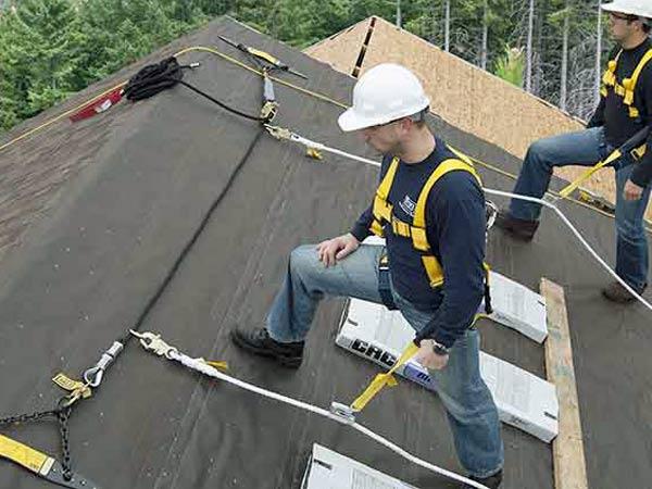 sistema anticaduta tetto