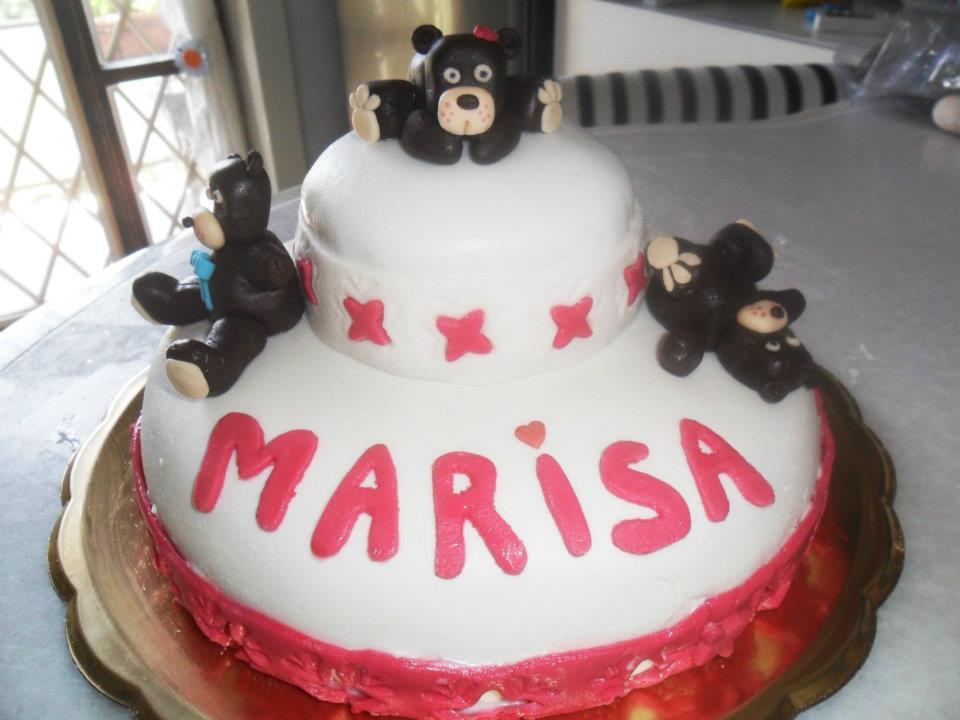 torte decorate con orsetti