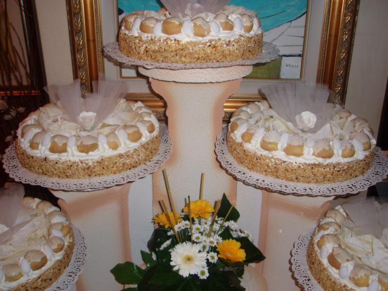 torte decorate per cerimonia