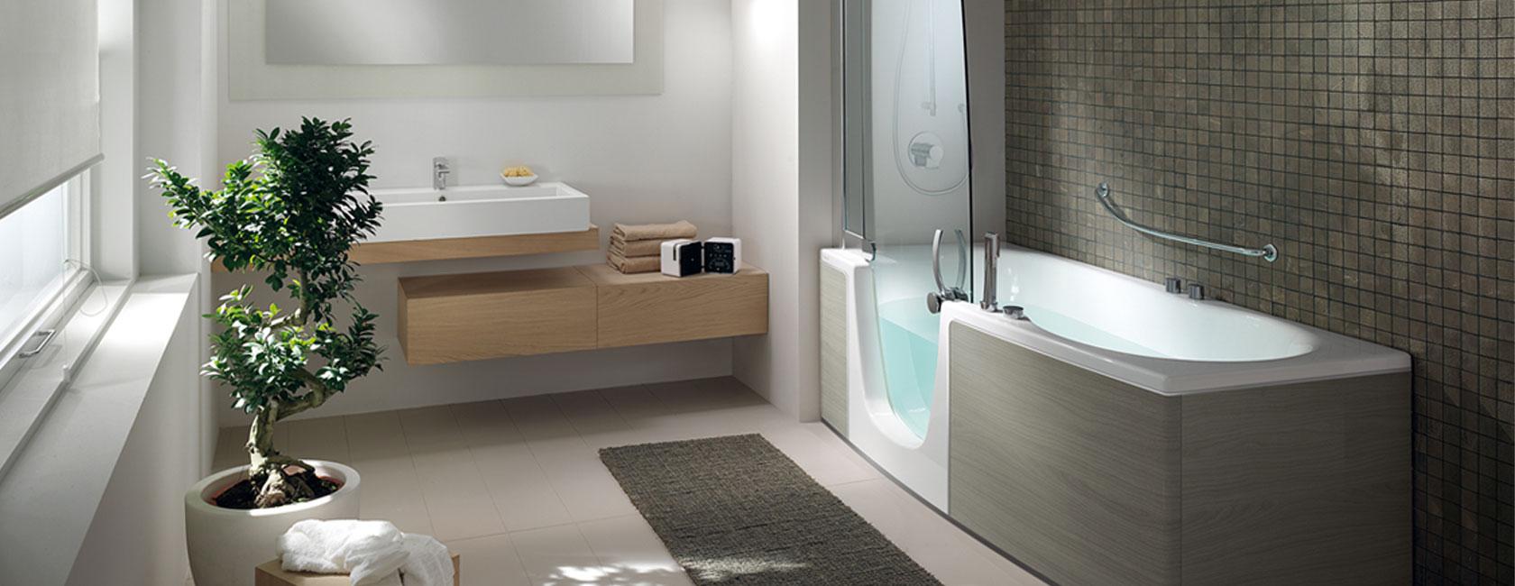 vasca doccia combinata personalizzata