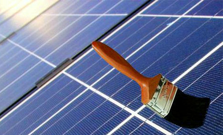 vernice che aumenta efficienza negli impianti fotovoltaici