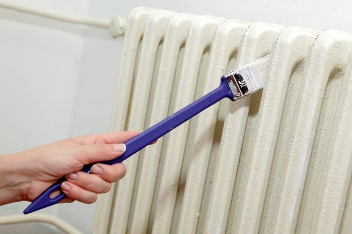 verniciare un termosifone